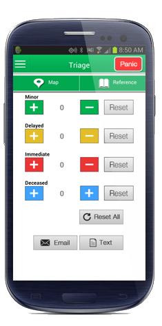 gps mapping emergency response app